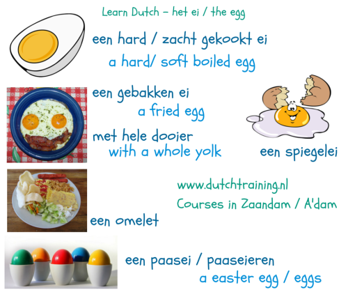 Learn Dutch - het ei - the egg