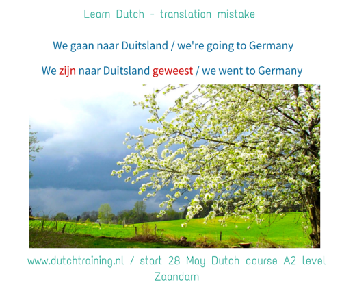 Learn Dutch - translation mistake
