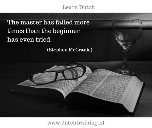 start learning Dutch